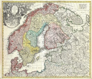 1730_Homann_Map_of_Scandinavia,_Norway,_Sweden,_Denmark,_Finland_and_the_Baltics_-_Geographicus_-_Scandinavia-homann-1730