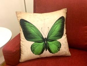 Casalo Kudde Green Butterfly