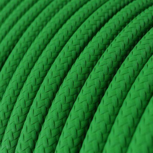 Textilkabel i viskos - RM06 Grön