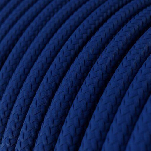 Textilkabel i viskos - RM12 Blå