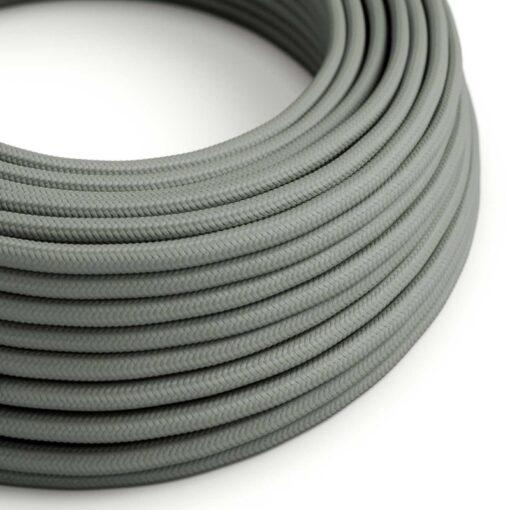textilkabel grå