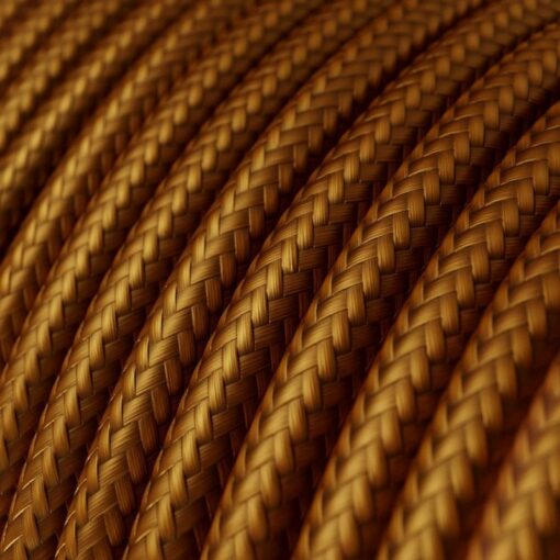 Textilkabel i viskos - RM22 Whiskey