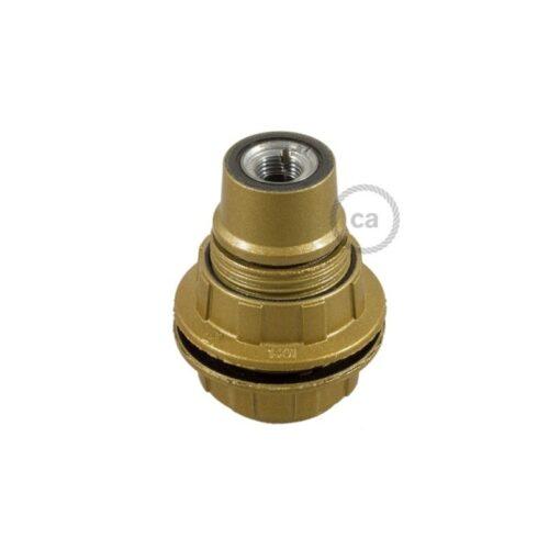 Lamphållare i bakelit E14 för lampskärm