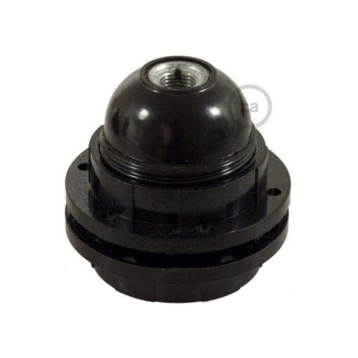 Lamphållare i bakelit E27 - För lampskärm