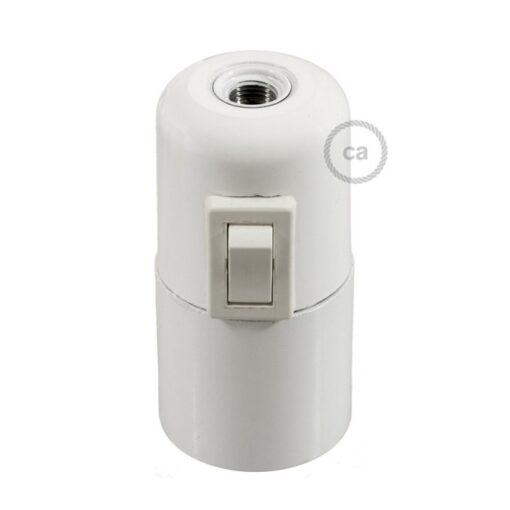 lamphållare med strömbrytare