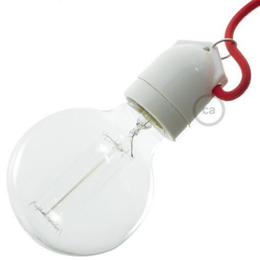 lamphållare porslin