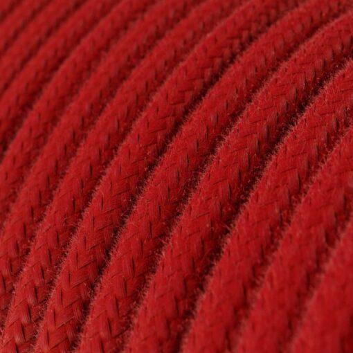 bomullskabel röd