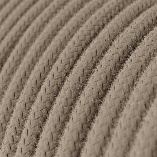 Textilkabel i bomull - RC43 Dove