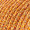 Textilkabel i bomull - RX07 Indian Summer