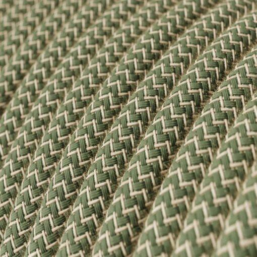 RD71 linne och grön bomull
