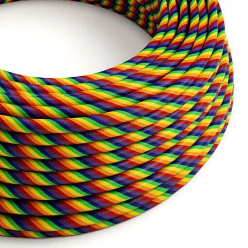 Textilkabel Rainbow
