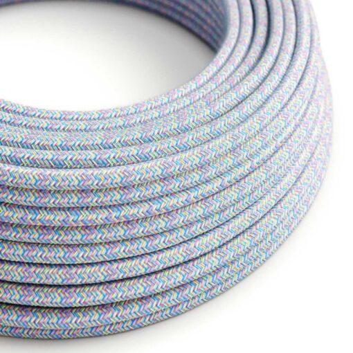 Textilkabel i bomull - RX09 Lollipop