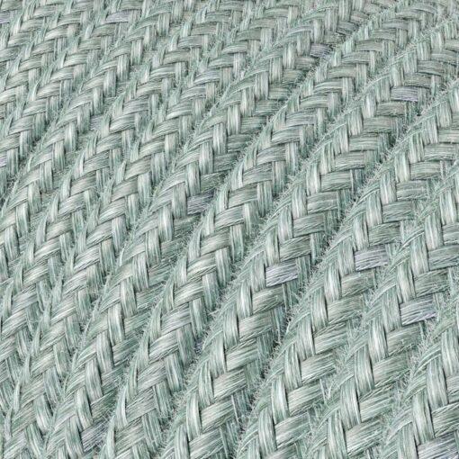 Textilkabel i bomull - RX12 Blue Haze
