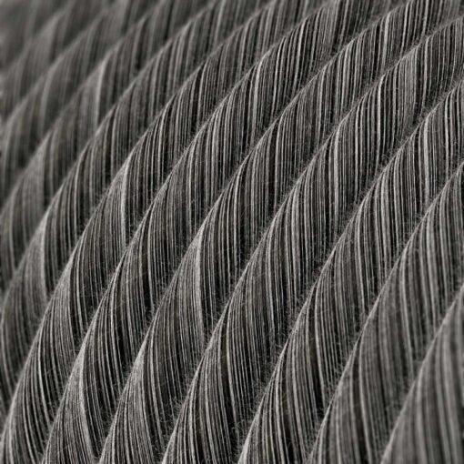 Textilkabel - ERC 37 Black Melange