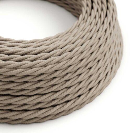 Tvinnad textilkabel TC43 - Dove