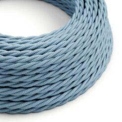 Tvinnad textilkabel TC53 - Ocean