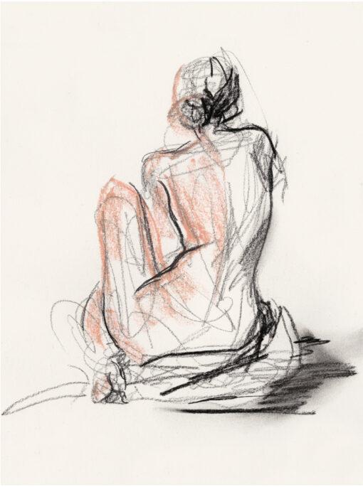 tavla med naken kvinna