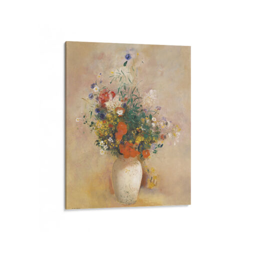 Canvas med klassiskt blomstermotiv