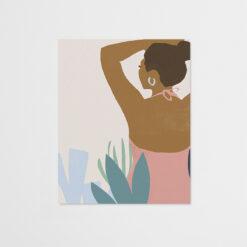 Canvas Femme Moderne