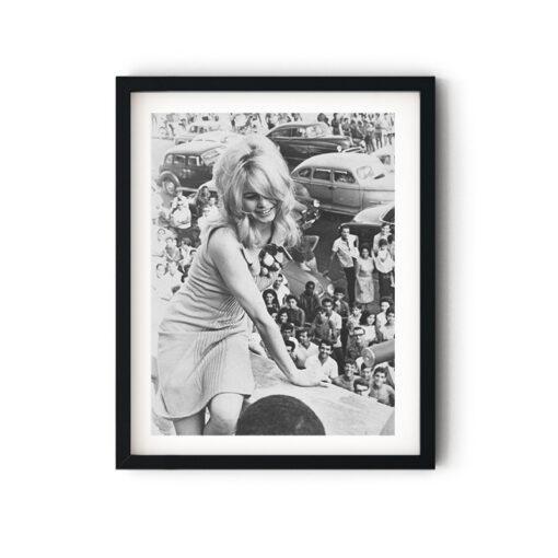 Brigitte Bardot in Brazil tavla