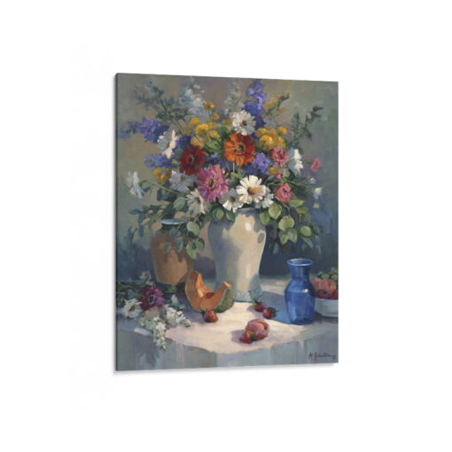 Fruits and Flowers Canvas