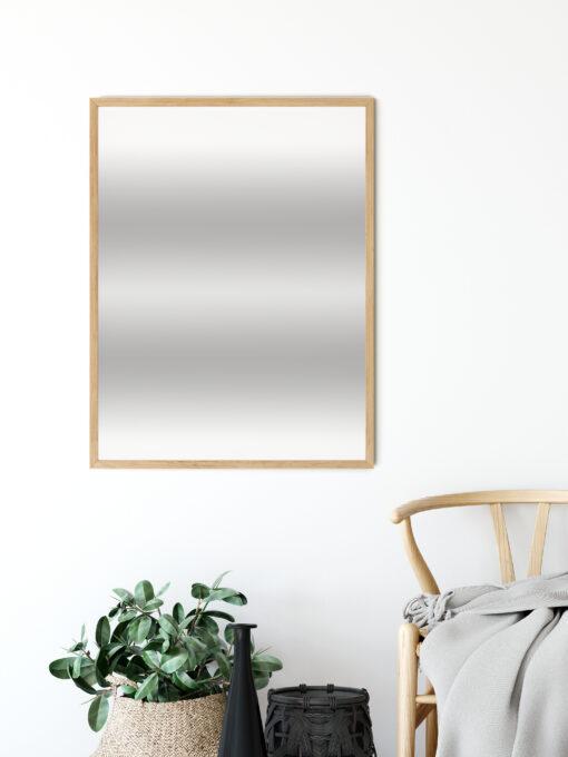 spegel med ekram