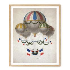 Vintage Tricolore Baloons, Tavla