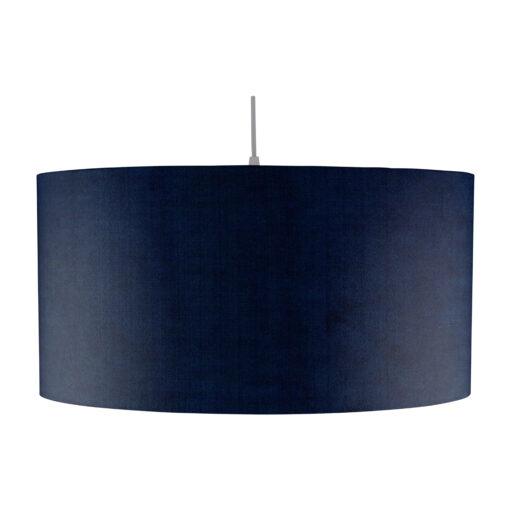 Taklampa i sammet blå